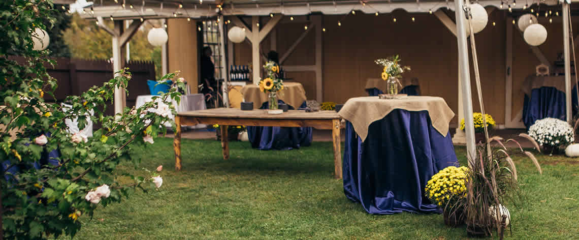 clambake wedding reception catering in MA