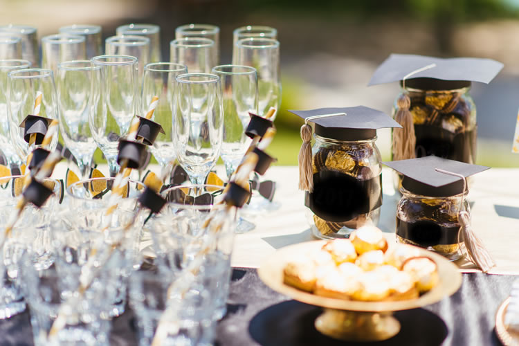 5 Ways to Make Your Graduation Party Catering Pop!